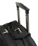 Professional Rolling Laptop Trolley Briefcase Black - Luggage Outlet Singapore - 5