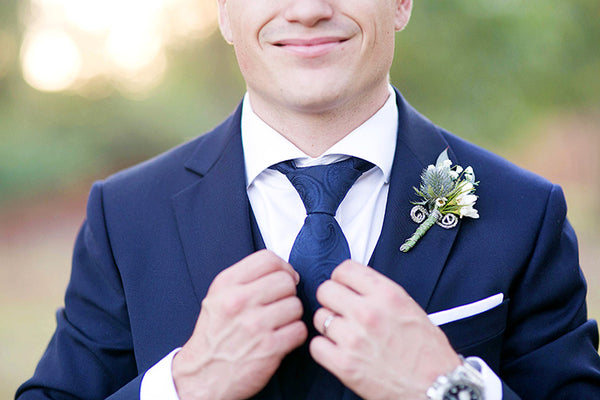 006697b8312c 10 Stylish Wedding Looks For Grooms of 2018! – Mrs Bow Tie