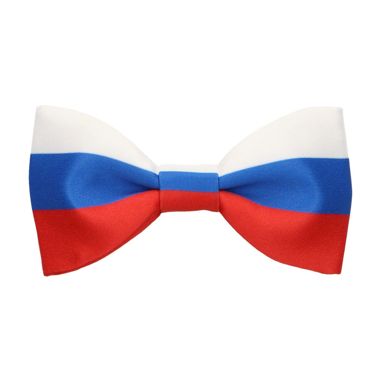 Russia Flag Bow Tie