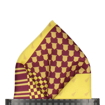Rowling in Red Pocket Square