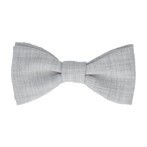 Isaac in Pale Grey Bow Tie