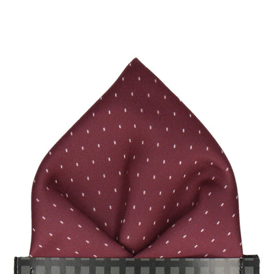Montgomery in Burgundy Pocket Square