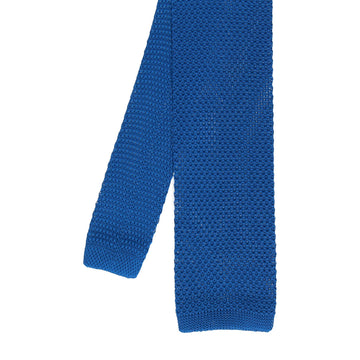 Knitted Tie in Royal Blue