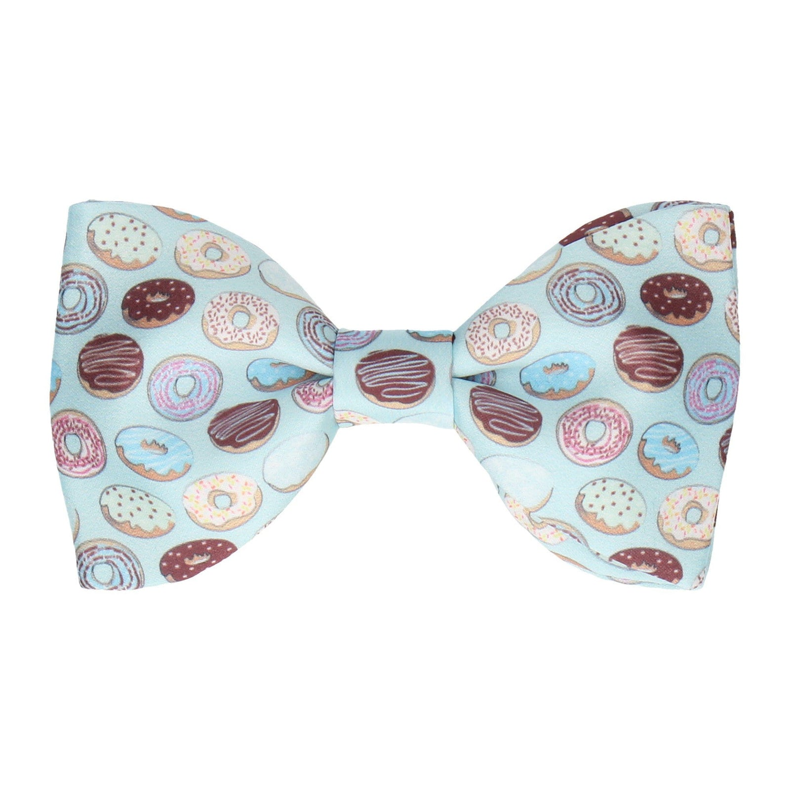 Doughnuts Donut Blue Bow Tie