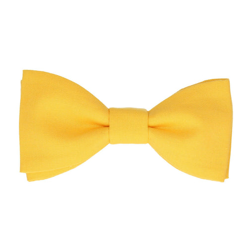Cotton in Sunshine Yellow Bow Tie
