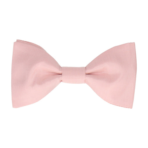 Pure Silk Pale Pink Bow Tie