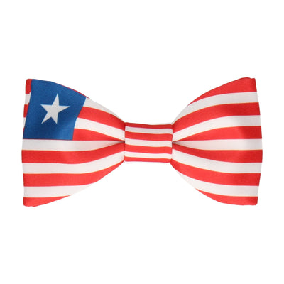 Flag of Liberia Bow Tie