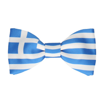 Greece Flag Bow Tie