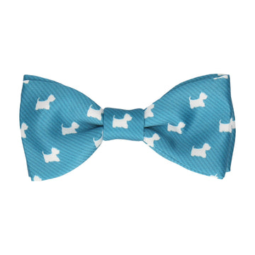 West Highland Terriers Westie Dog Bow Tie