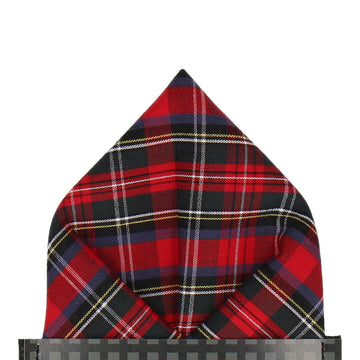 Tartan in Modern Stewart Pocket Square