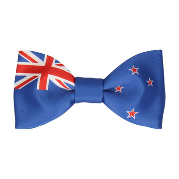 New Zealand Flag Bow Tie