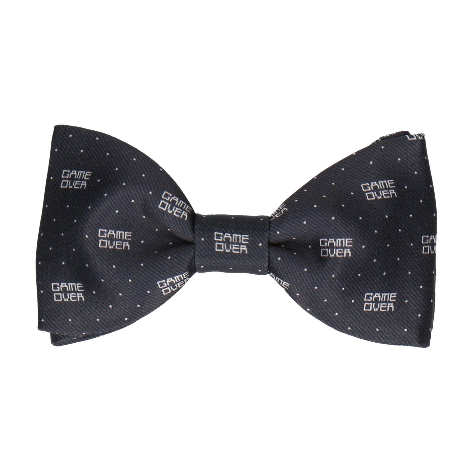 Game Over Bow Tie