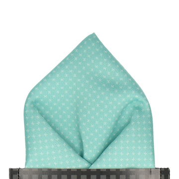Collins in Mint Green Pocket Square (Outlet)