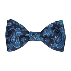 Patel in Navy & Blue Bow Tie