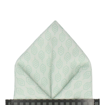 Hadley in Mint Green Pocket Square (Outlet)