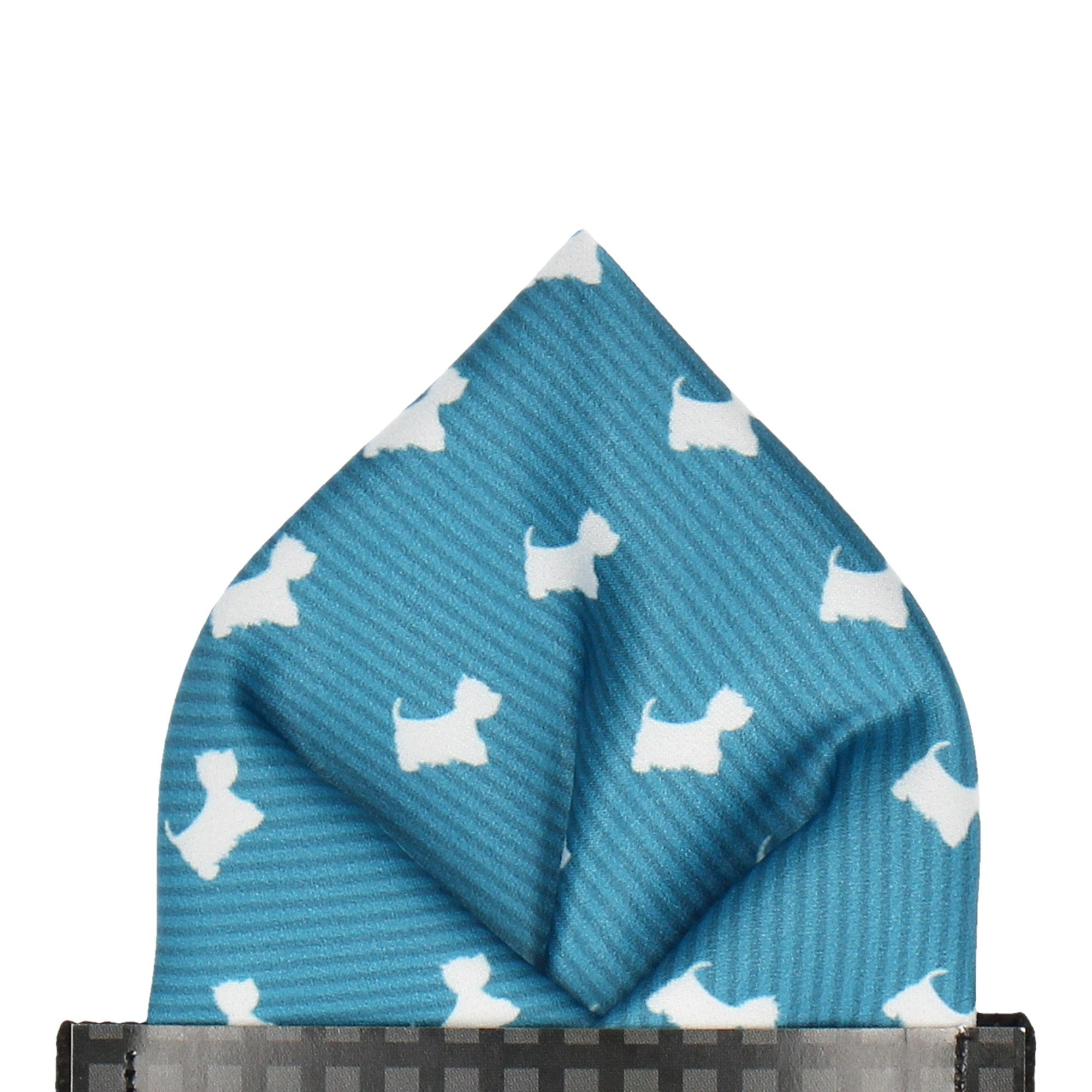 West Highland Terriers Pocket Square