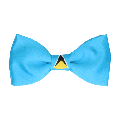 Flag of St Lucia Bow Tie