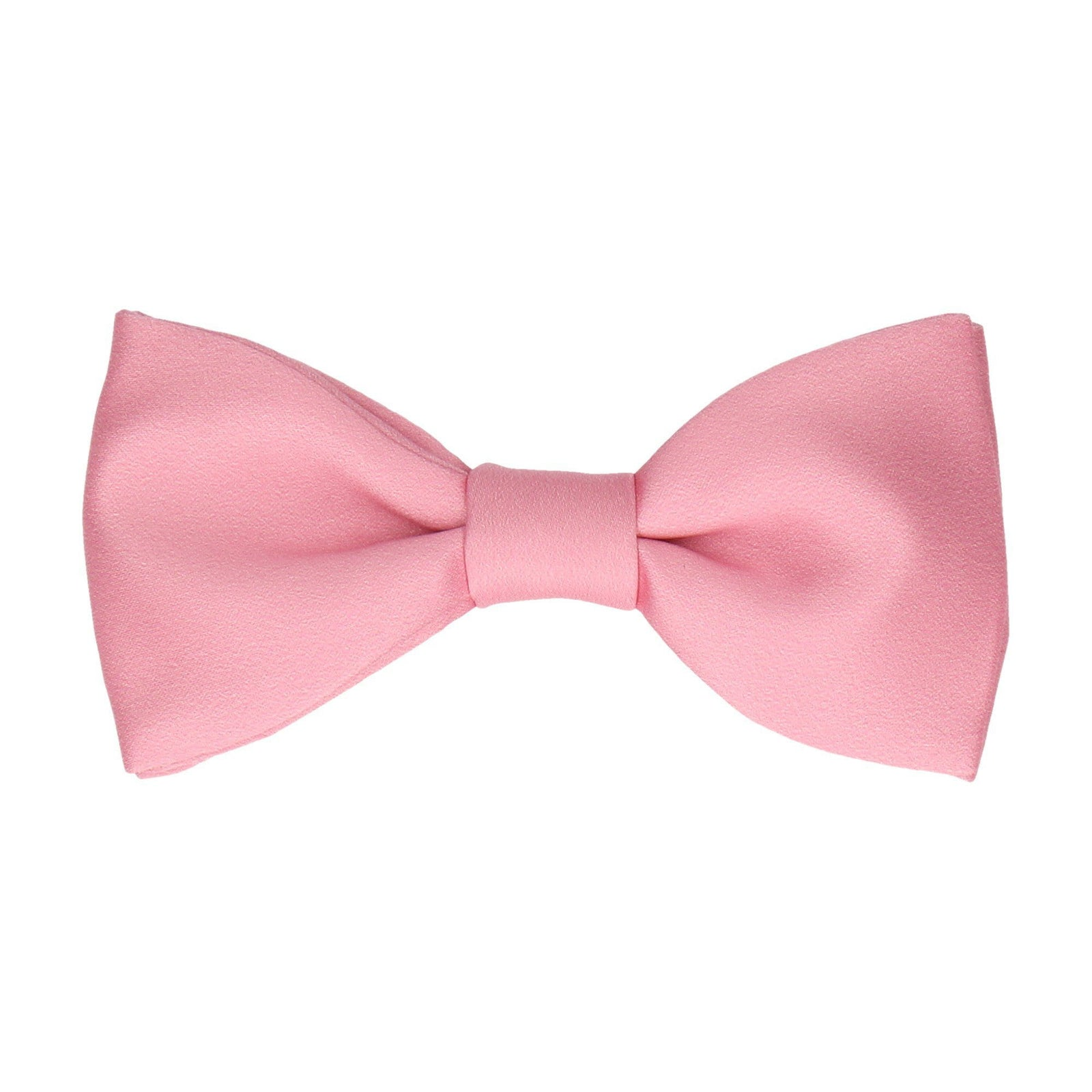Plain Solid Blush Pink Bow Tie