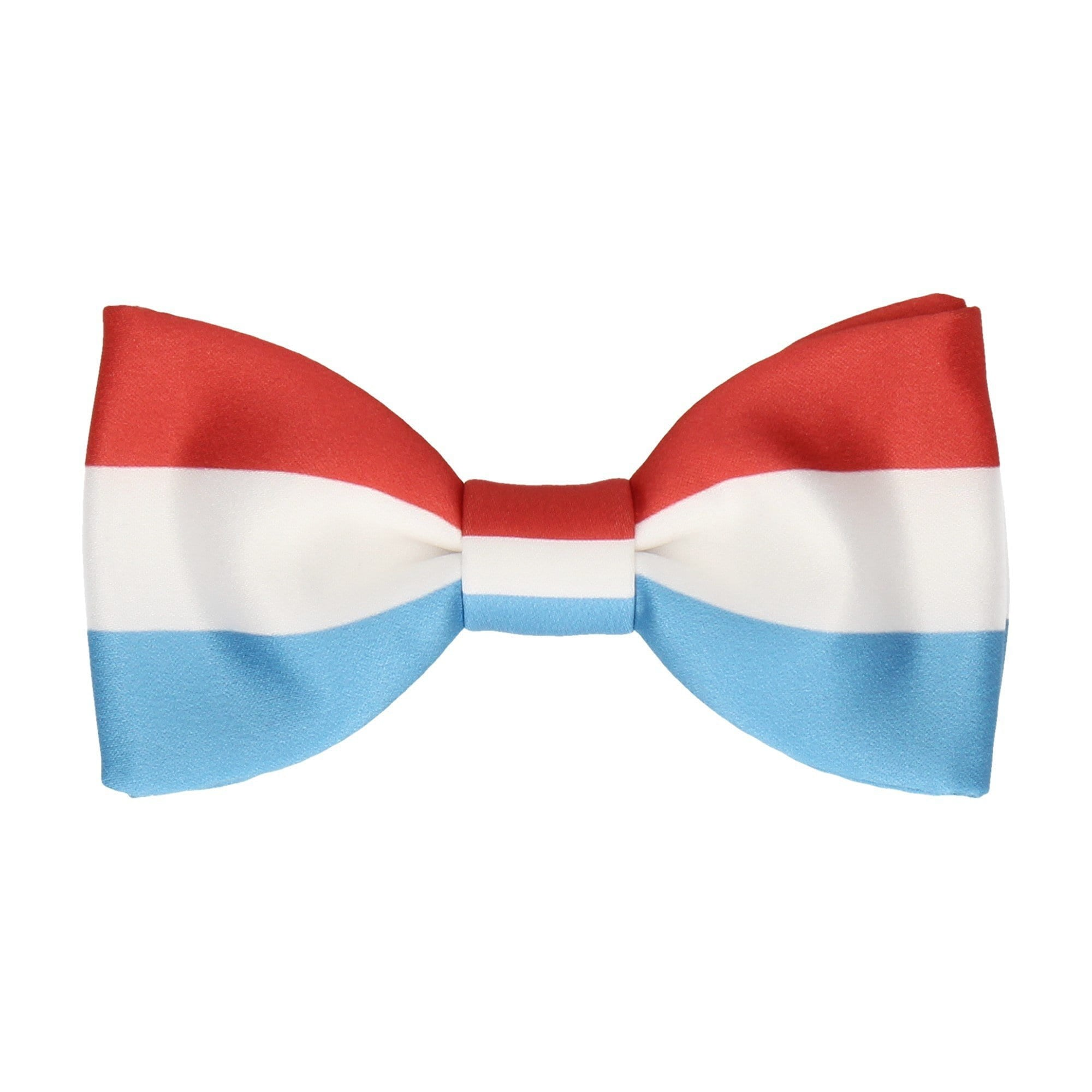Flag of Luxembourg Bow Tie