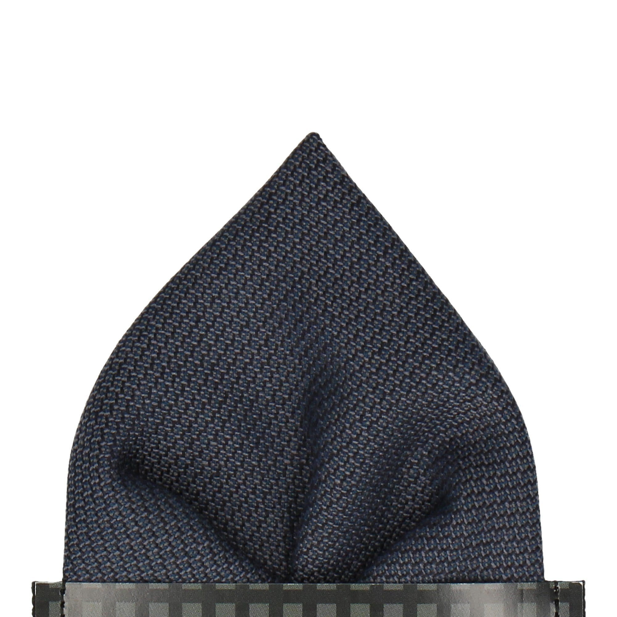 Clinton in Navy Pocket Square