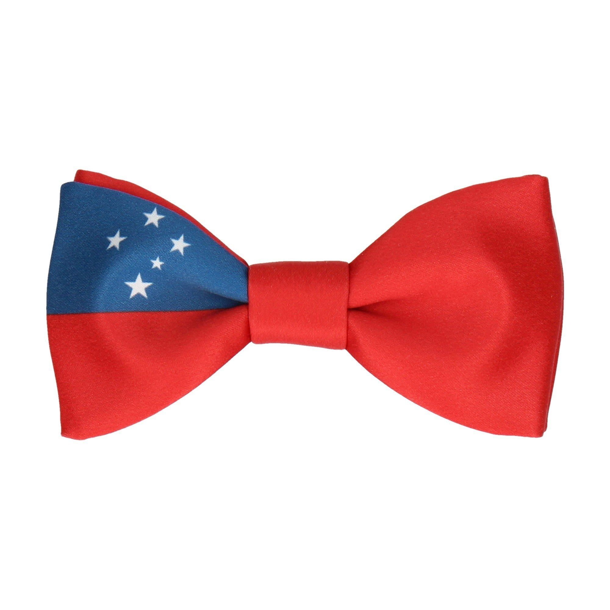 Flag of Samoa Bow Tie