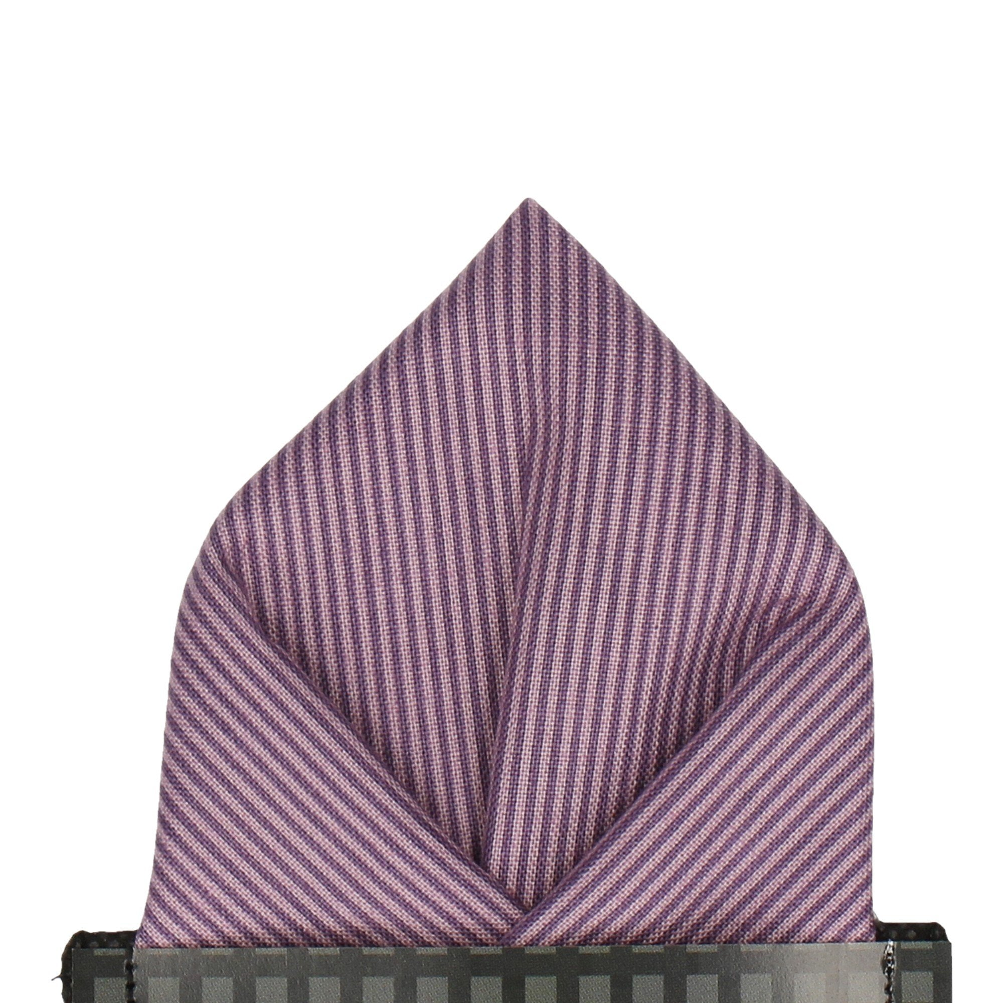 Winchester in Purple Pocket Square