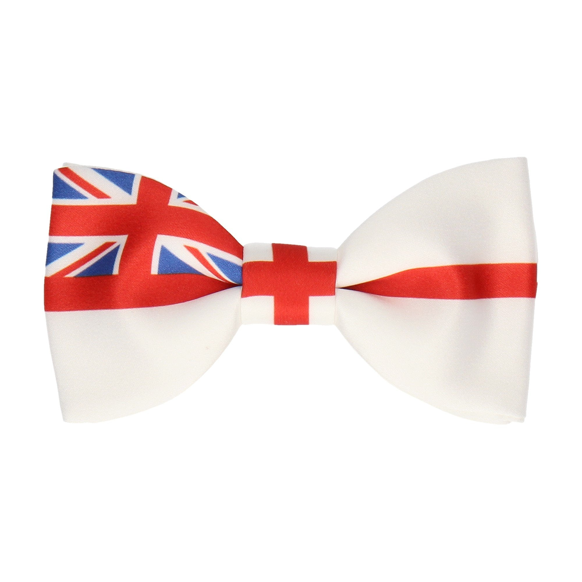 c68786e9efe7 Royal Navy Bow Tie - White Ensign Flag - Made in Britain – Mrs Bow Tie