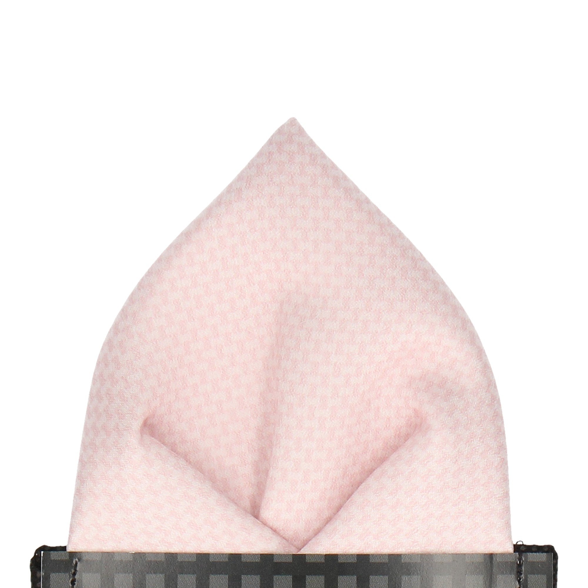Melville in Soft Blush Pocket Square