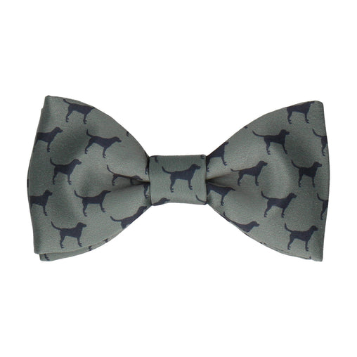 Labradors Dark Green Bow Tie