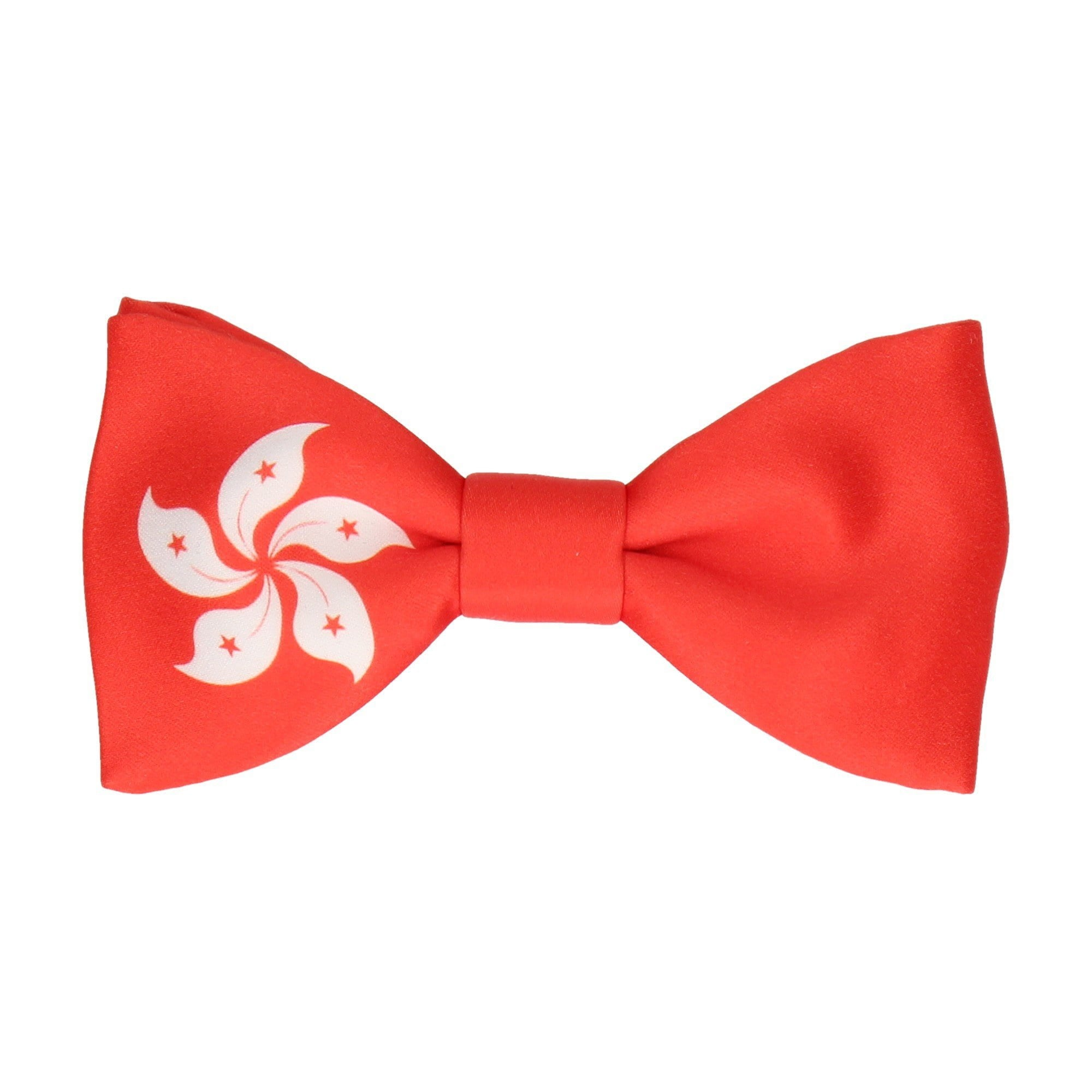 Flag of Hong Kong Bow Tie