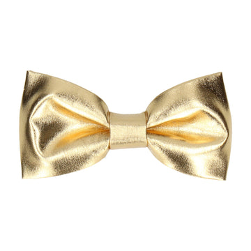 Metallic in Gold Bow Tie