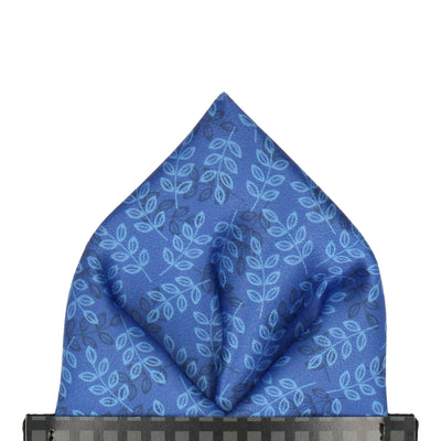 Aberdeen in Blue Pocket Square
