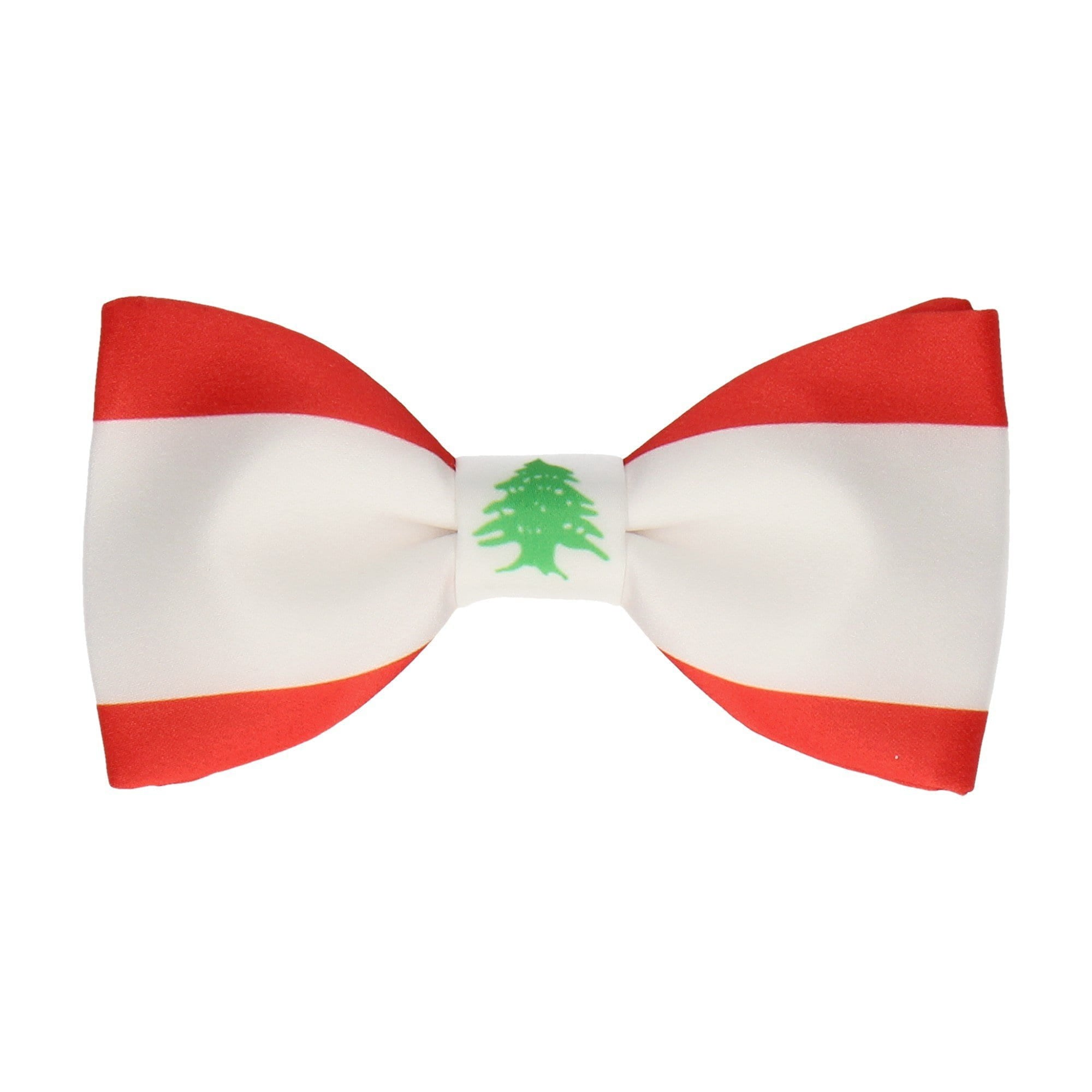 Flag of Lebanon Bow Tie