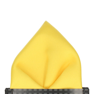 Classic in Yellow Pocket Square