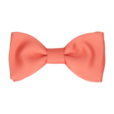 Classic in Coral Bow Tie