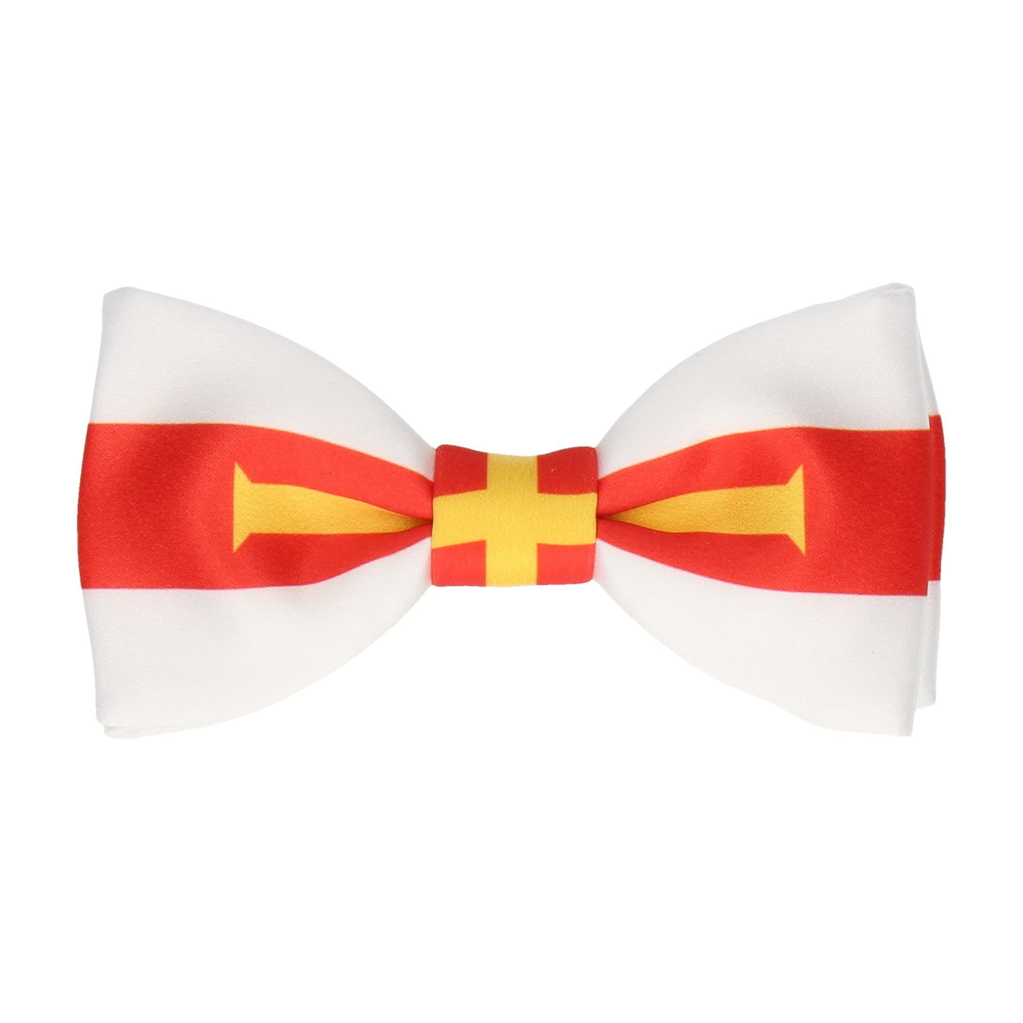 Flag of Guernsey Bow Tie