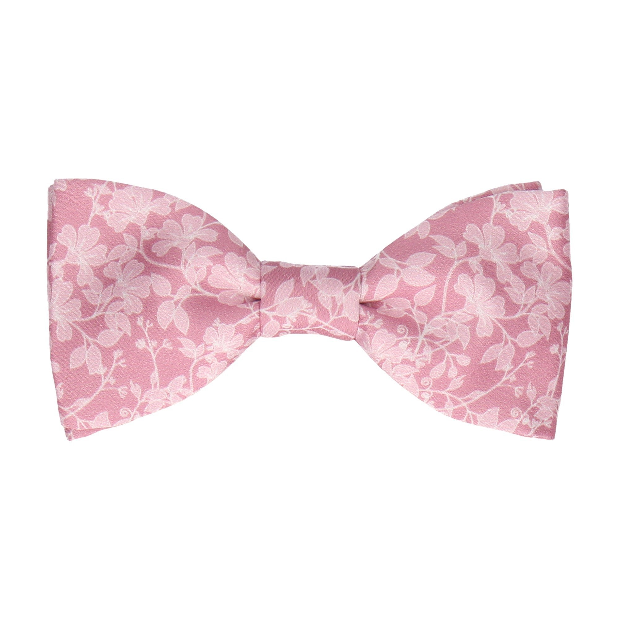 Irving Dusky Rose Pink Bow Tie