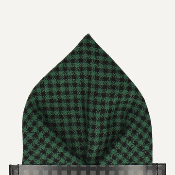 Nairn in Green Pocket Square (Outlet)