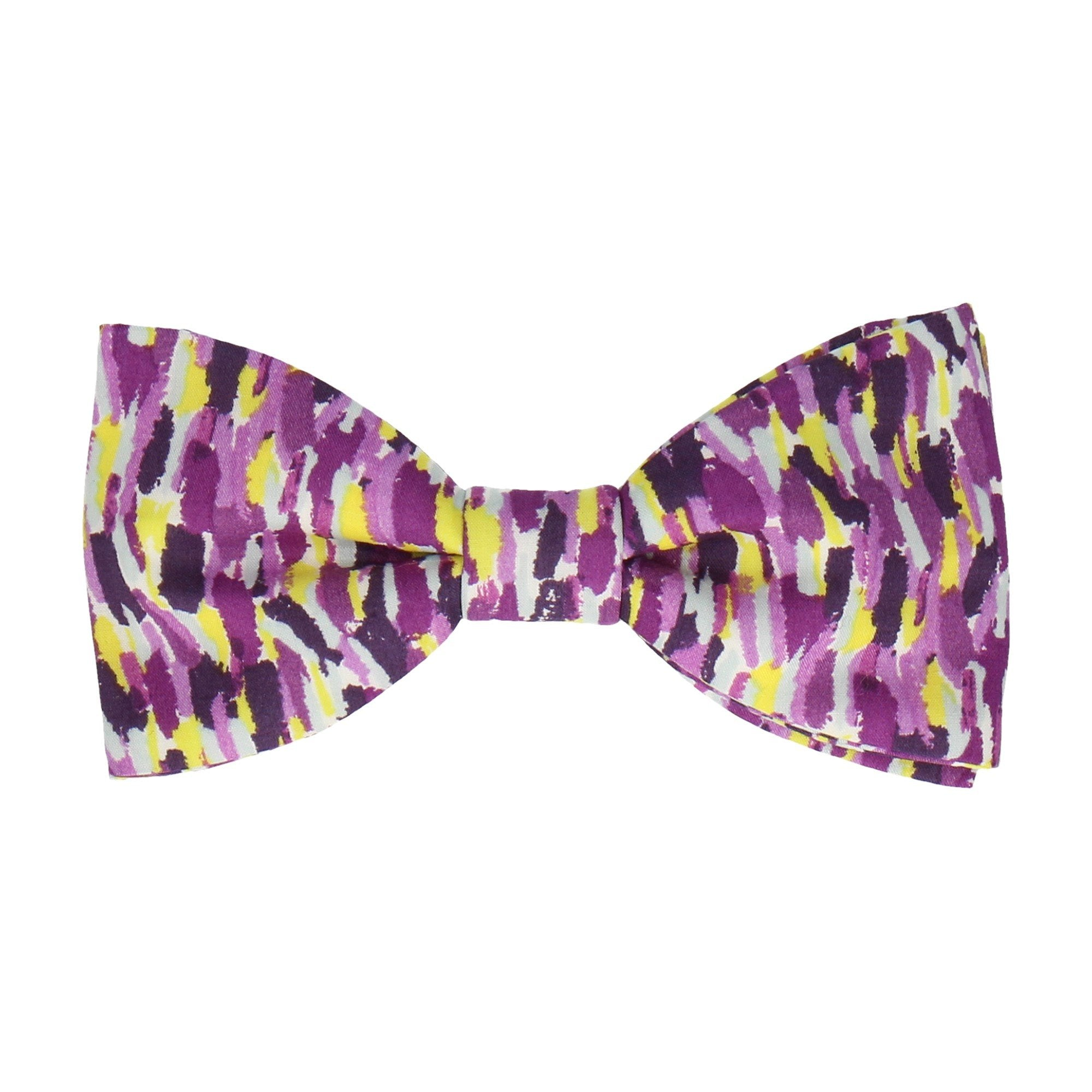 Meadow Rain in Purple Bow Tie