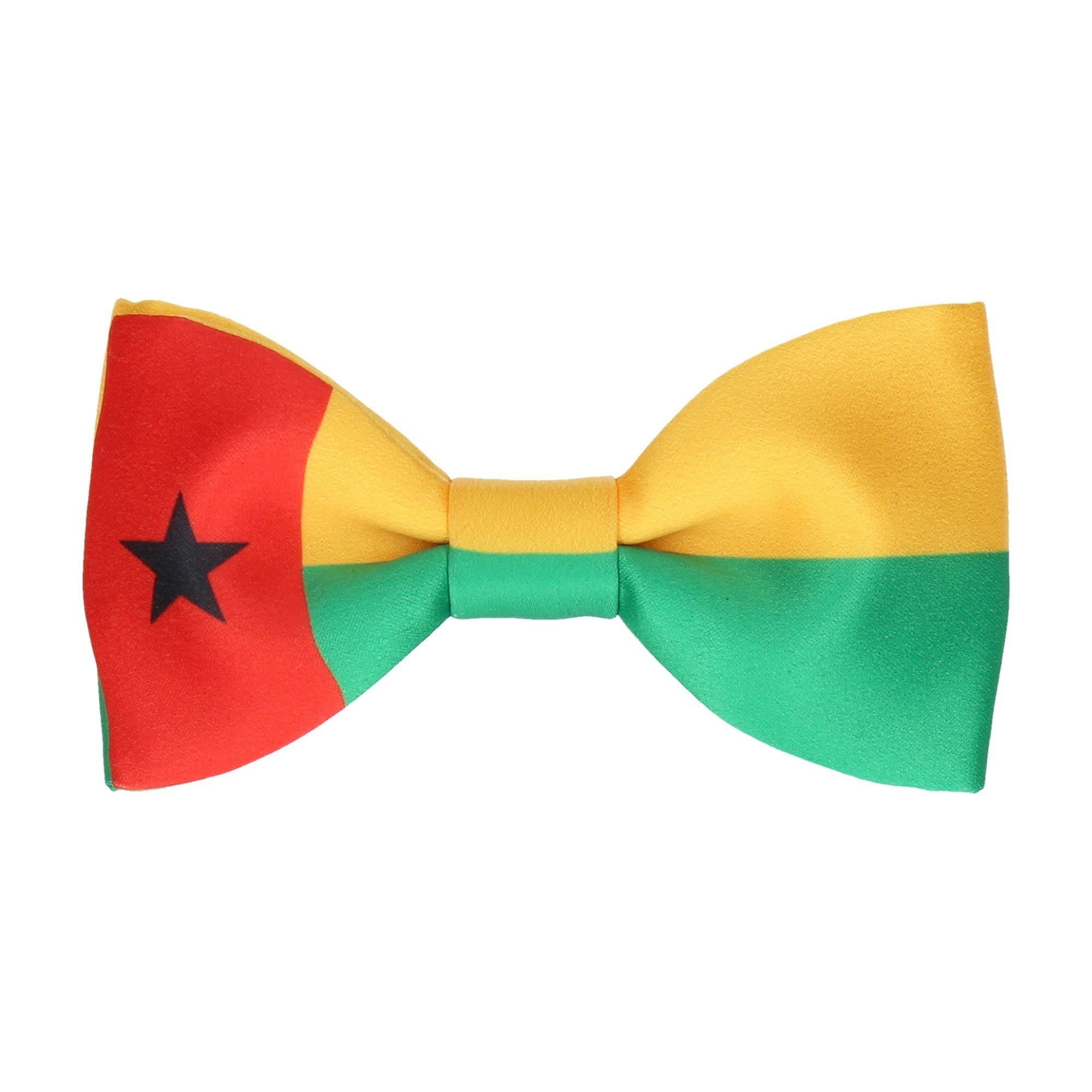 Flag of Guinea-Bissau Bow Tie