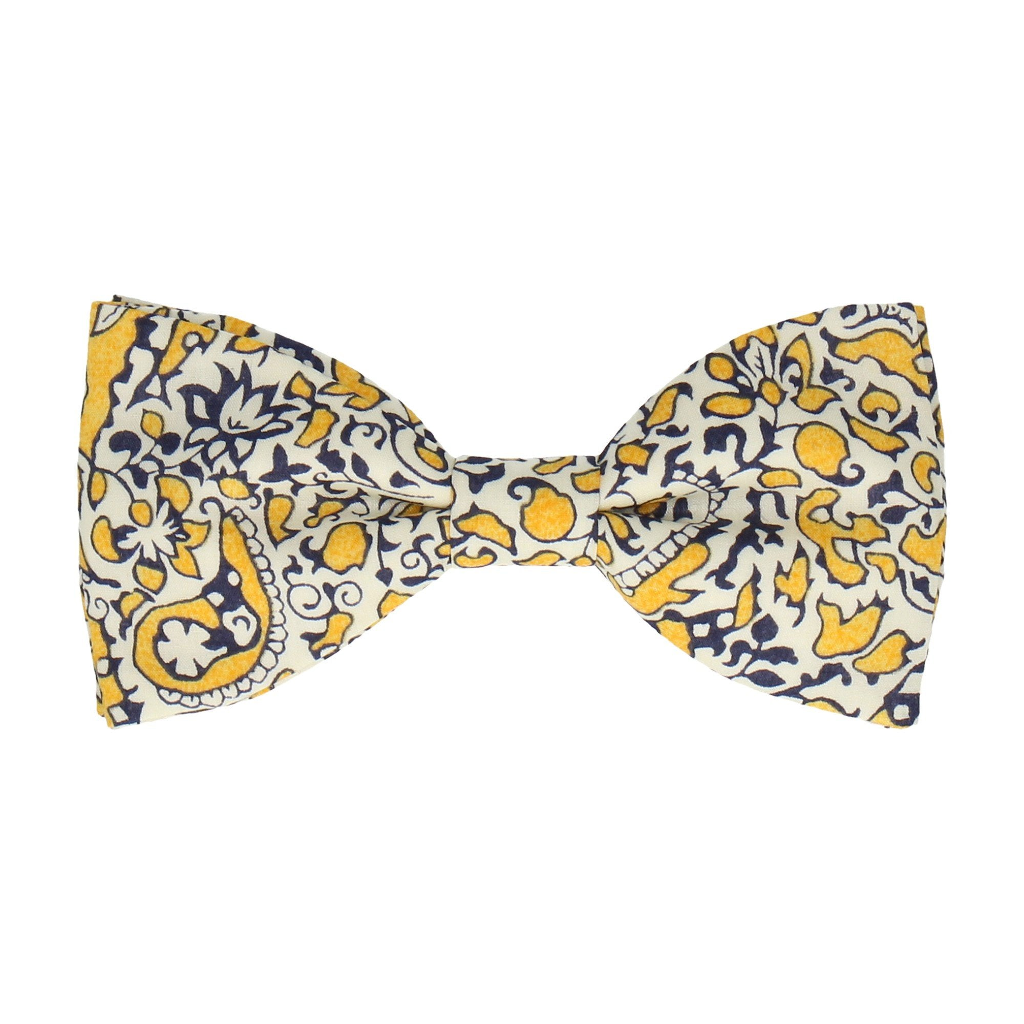 Lagos Laurel in Yellow Bow Tie