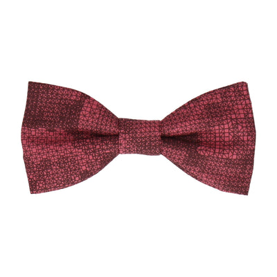 Red Anderson Liberty Cotton Bow Tie