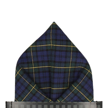 Gordon Modern Tartan Pocket Square
