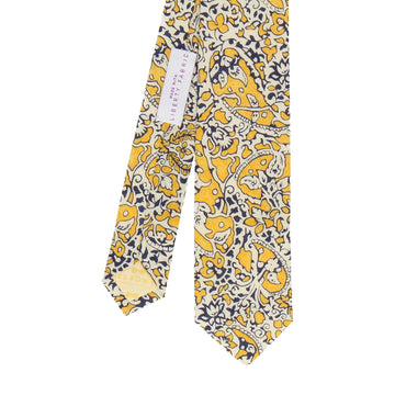 Yellow Lagos Laurel Liberty Cotton Tie