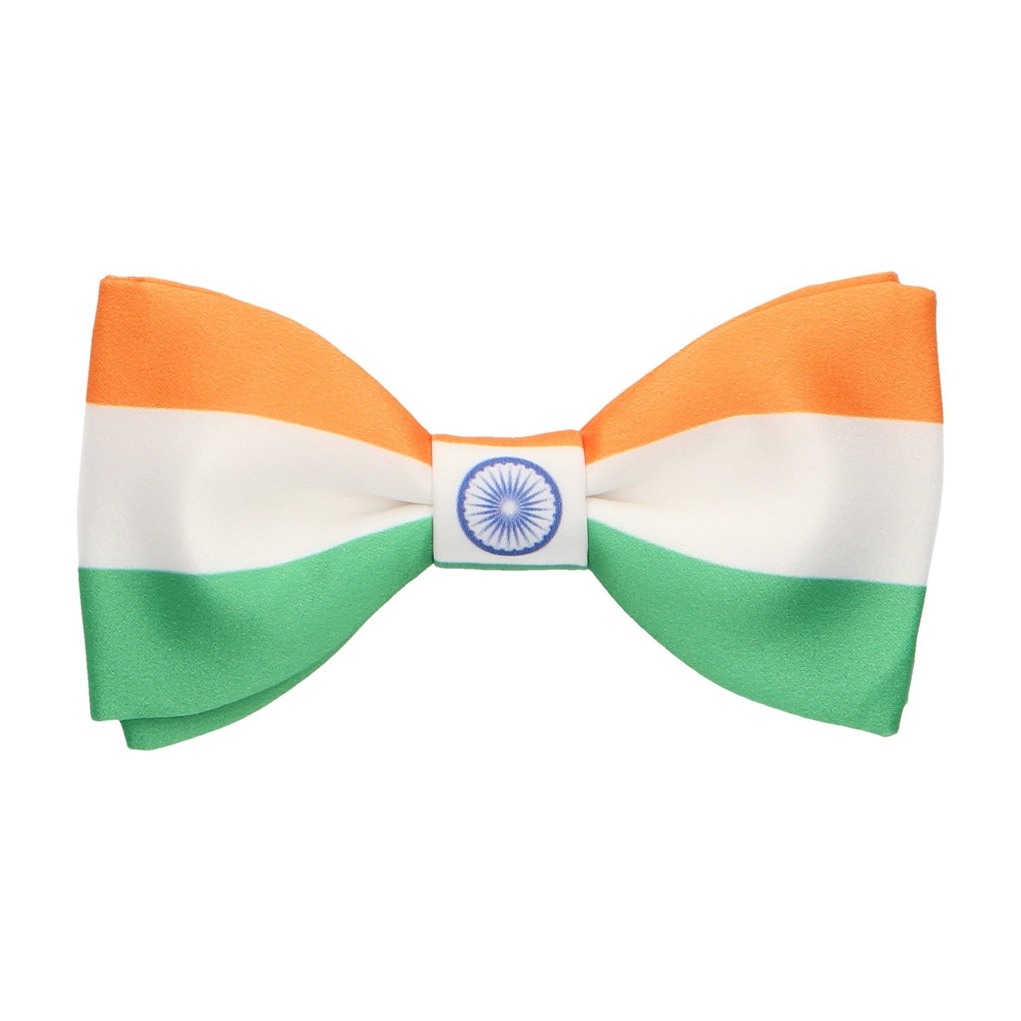 Flag of India Bow Tie
