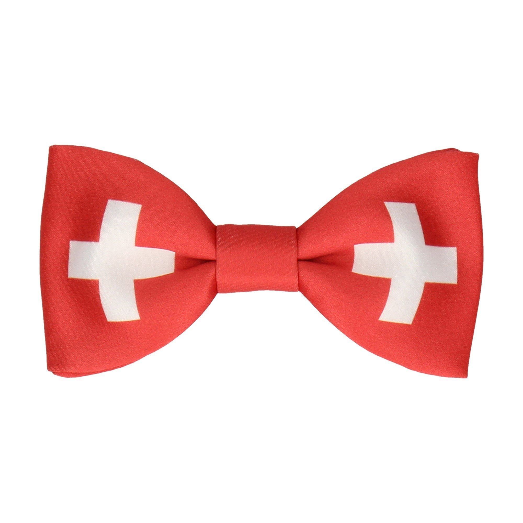 43e06a08db29 Flag of Switzerland Bow Tie – Mrs Bow Tie
