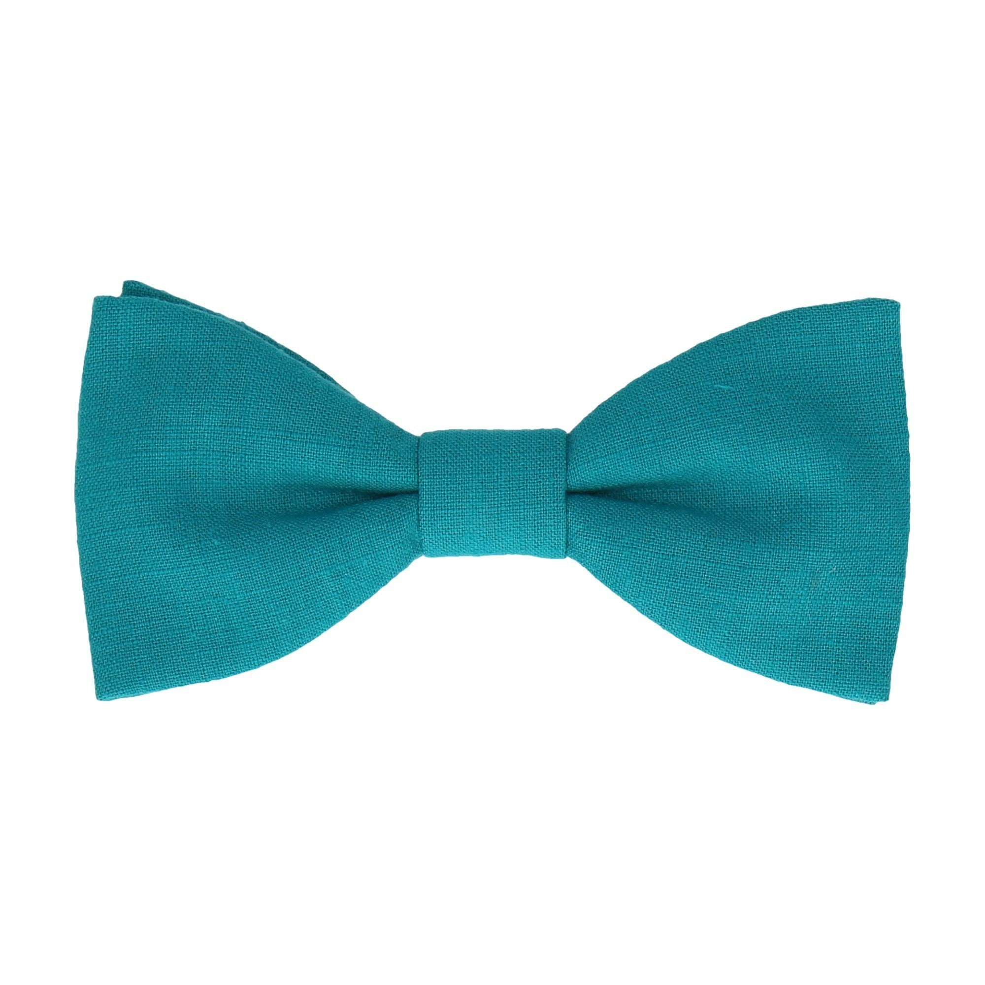 Dylan Turquoise Blue Bow Tie