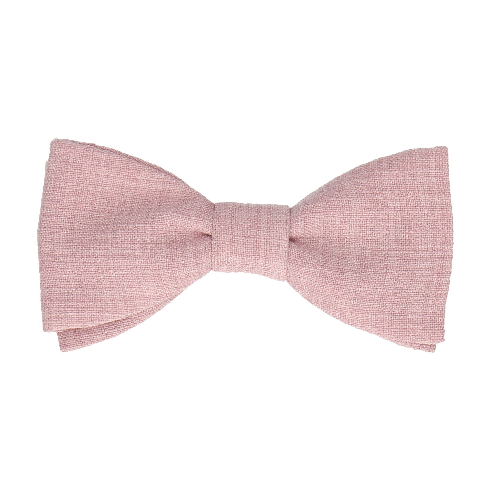 Isaac in Pale Pink Bow Tie
