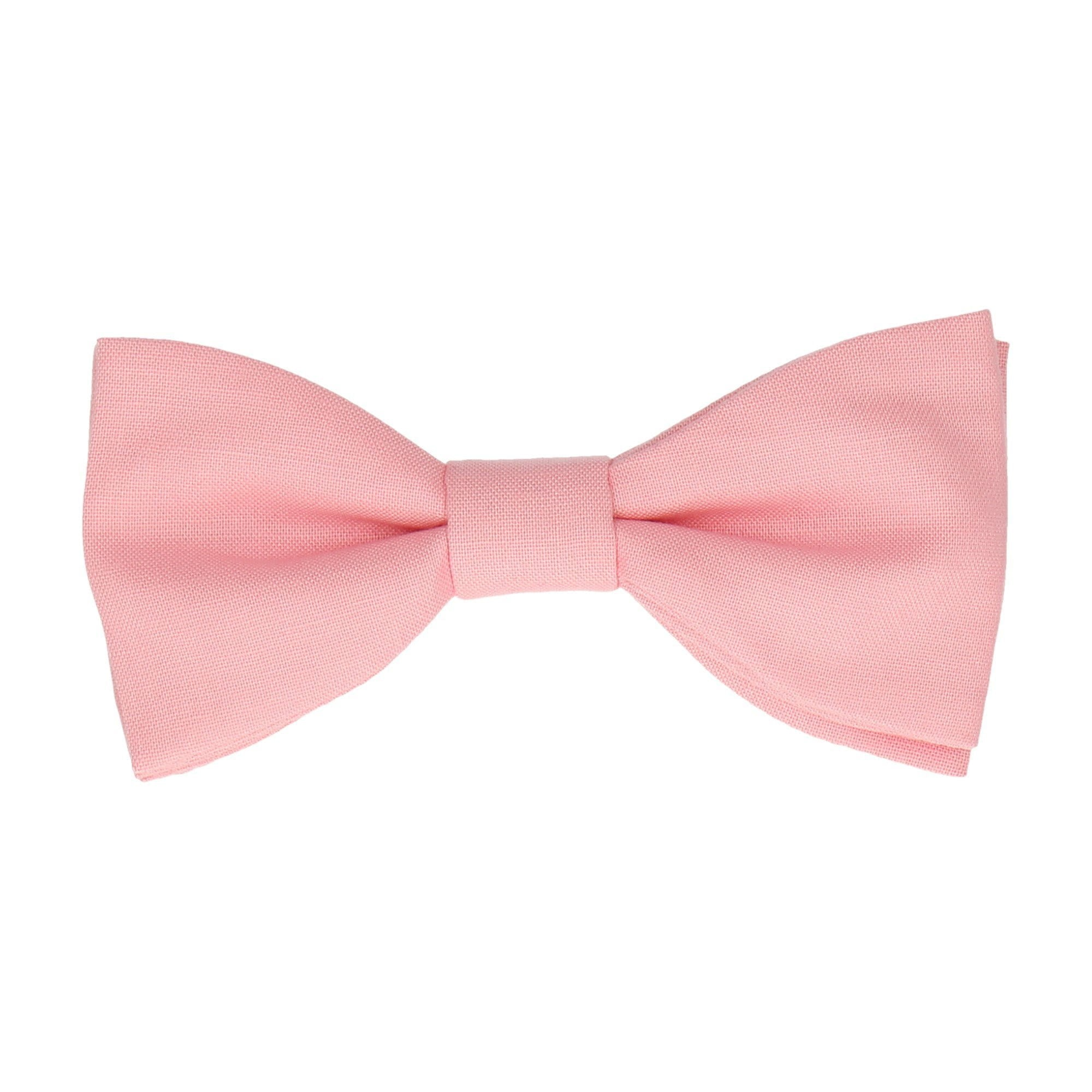 Cotton Primrose Pink Bow Tie