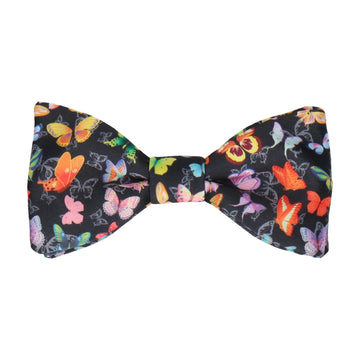 Bright Butterflies Bow Tie
